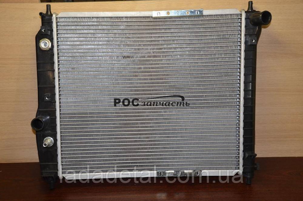 Радиатор охлаждения Авео АКПП  L480 Luzar алюмин.-паяный