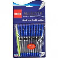 Ручка масяляная MAXRITER CELLO синяя