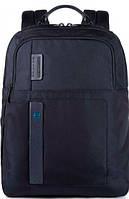 Рюкзак Piquadro PULSE/Bk.Blue, CA4174P16_BLU2 темно-синий 20 л