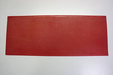 Профилактика полиуретановая Италия 200*500 мм. т. 1,0 мм. красный, фото 2