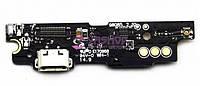 Нижняя плата Meizu M3 Note (M681H) с разъемом зарядки и микрофоном