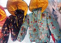 Детские куртки для девочек Кукла осень-весна ,возраст 3-6 лет опт и розница-S496