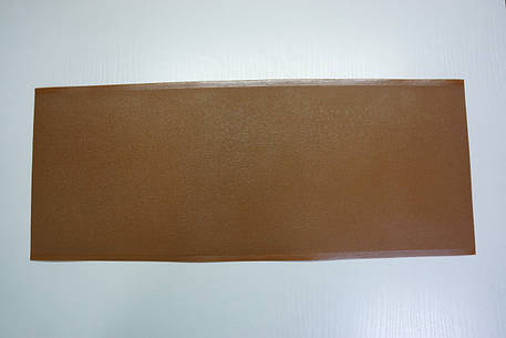 Профилактика полиуретановая Италия 200*500 мм. т. 1,0 мм. тем.беж(табак), фото 2