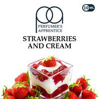 Strawberries and Cream (Клубника со сливками) TPA 10мл