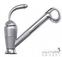 Смесители Ukinox Смеситель для кухни с выдвижным душем Ukinox Classic 41219 STCR сатин