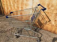 БУ Тележка, візок для супермаркета 80 литров