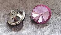 Мебельные пуговицы разных цветов (хрусталь) . Ромашка 30 мм, фото 1
