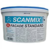 Акриловая фасадная краска  Сканмикс Фасад Стандарт/М90 // Scanmix Facade Standart/M90 (уп.10 л)