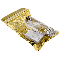 Зарядное устройство LP АС-003 USB 5V 2A + кабель USB - Micro USB (Белый) /ОЕМ