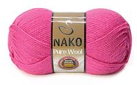 Nako Pure Wool фуксія № 4569