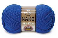 Nako Pure Wool волошка № 5329
