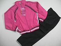 Спортивный костюм для девочек, плащевка, размеры 110,116, арт. 2001
