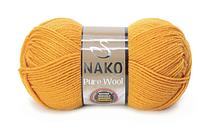 Nako Pure Wool гірчичний № 10329