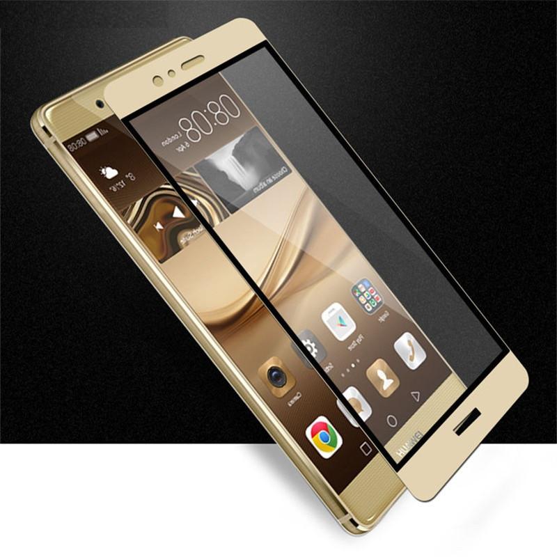 Full Cover захисне скло для Huawei Honor 8 - Gold