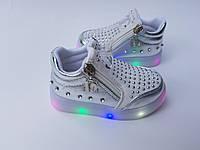 Утепленные демисезонные ботинки на девочку 21 - 26 размеры