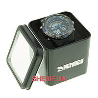 Часы Skmei 1110 Black-Blue BOX 1110BOXBKBL