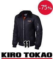 Куртка демисезонная мужская Kiro Tokao - 229A черная