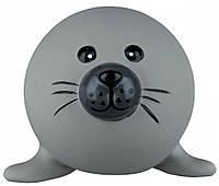 Игрушка Trixie Ball Animal для собак латексная, с пищалкой, 6 см, фото 1