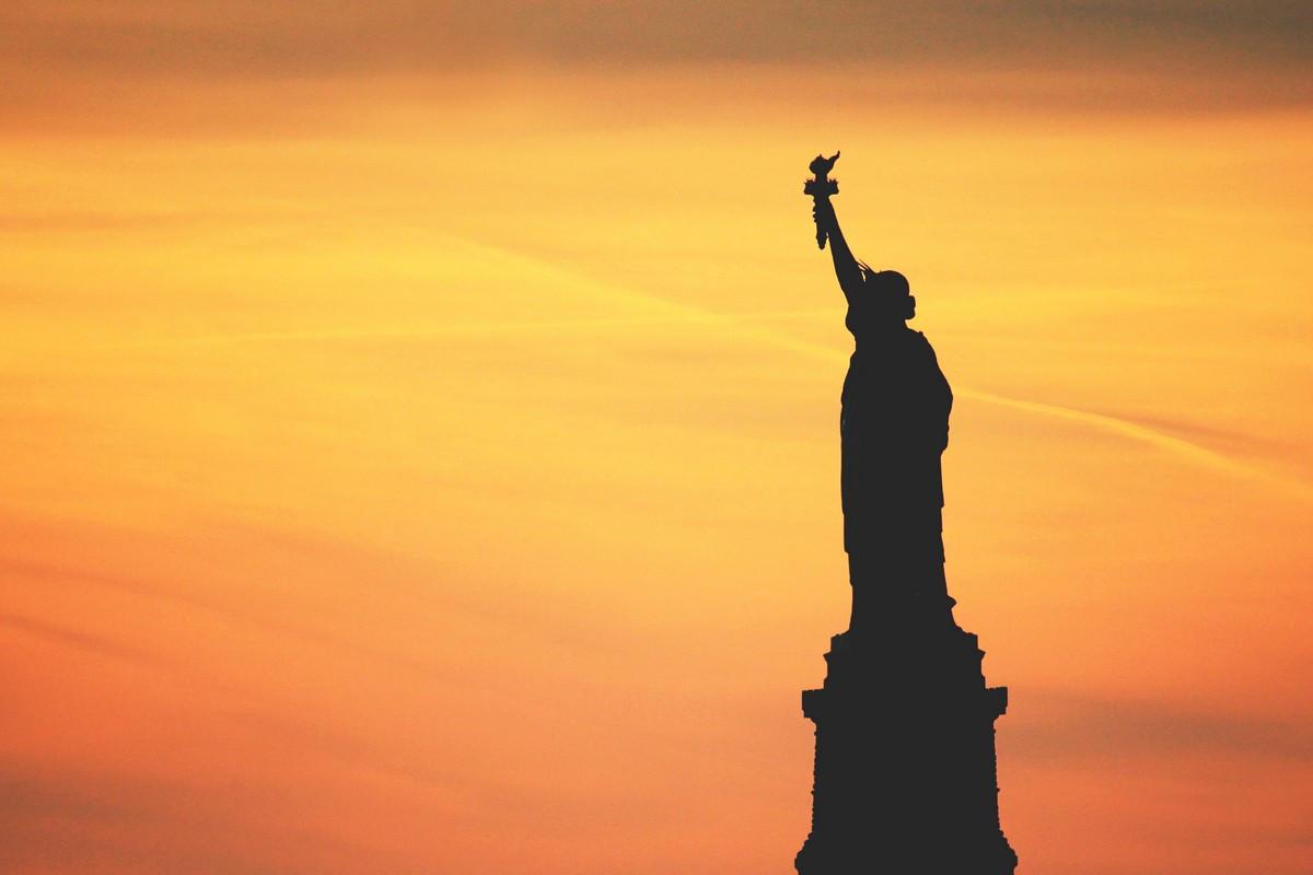 Фотообои Статуя свободы 1