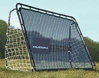 Футбольные ворота Hudora 76099 с отбивающим экраном 213x152 см