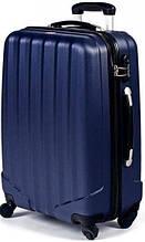 Большой чемодан на 4-колесах DAVID JONES Dp00004 синий (УЦЕНКА!)