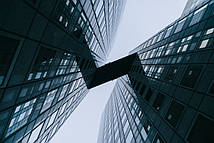 Фотообои Два здания