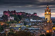 Фотообои Ночной Эдинбург