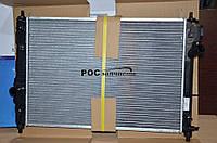 Радиатор охлаждения Авео Т255 1,2 Luzar алюмин.-паяный