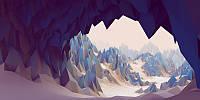 3D фотообои: Пещера