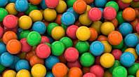 3D фотообои: Разноцветные шары