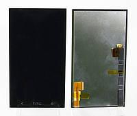 Дисплей для HTC 802w One M7 Dual Sim + touchscreen, черный