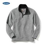 Флисовая кофта свитера для мальчика Old navy серая, Размер 8, Размер 8