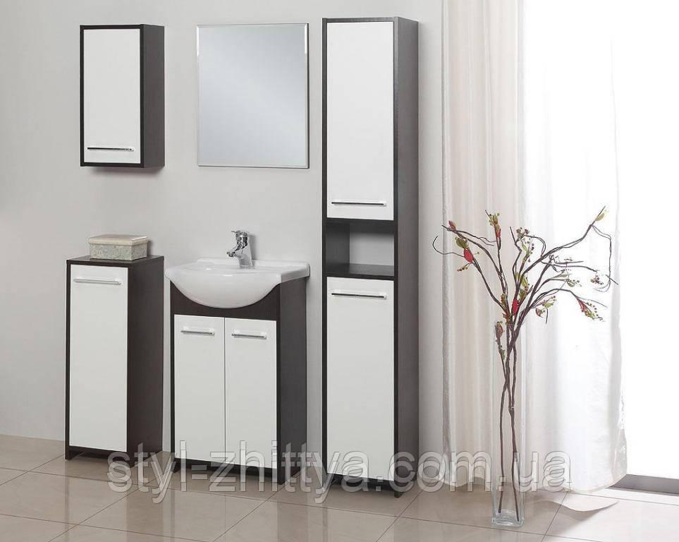 Меблі для ванної кімнати. Умивальник в комплекті