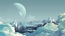 Фотошпалери Інопланетний пейзаж