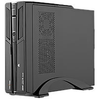 Компьютерный корпус LP S603 BK 400W Slim, встроенная акустика