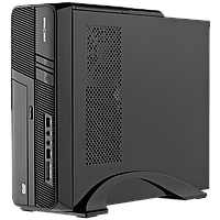 Компьютерный корпус LP S605 BK 400W Slim