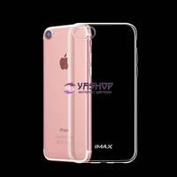 Чехол iMAX для iPhone 4, 4S силиконовый прозрачный