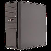 Корпус LP 5860BK 450W 12cm Встроенный ИБП 650VA, ATX/ MATX, 20+4Pin, 1x4pin, 2xSATA, 3x4pin Molex, 120mm FA, хромированая решетка, CD-ROMx3, HDDx6,.