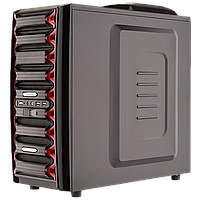 Корпус Logicpower 9905, Материал - SECC. Толщина металла - 0.8mm. Форм-фактор ATX/MicroATX. Отсеки для приводов: HDD: 4, ODD: 5. Безвинтовое