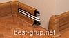 W 003 бурштин - плінтус підлоговий пластиковий Wimar (Вімарі), фото 2