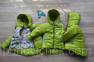 Легкая куртка парка для девочки модная