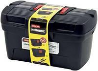 Набор ящиков для инструментов 13''+16'', черный с красным HEROBOX BASIC Curver 195477