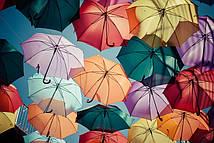 Фотообои Зонтики