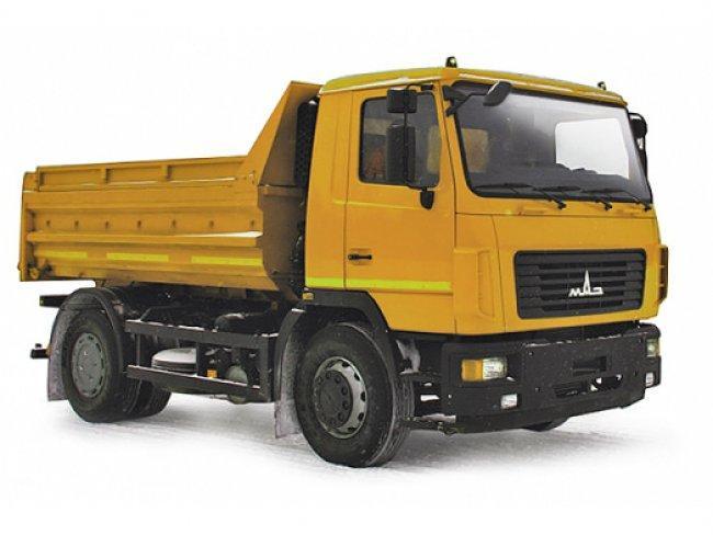 Самоскид МАЗ 5550С3-580\581-000