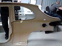 Панель боковины наружн Ланос-спорт. Правая боковина на Ланос hatchback трех-дверн Боковина 96337219 LANOS 3две, фото 1