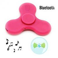 Спиннер Hand Spinner вертушка антистресс LED Bluetooth MP3