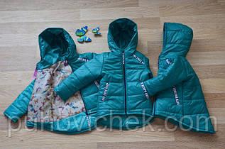 Детскую курточку для девочки осеннюю недорого
