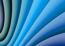 Фотообои Голубые линии