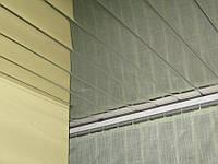 Алюминиевый реечный потолок хром