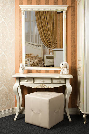Зеркало в деревянной рамке, фото 2